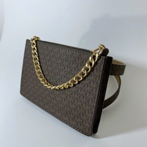 Michael Kors Chain Belt Wallet Bag Fanny Pack